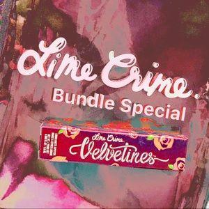 Lime Crime Velvetines - Bundle special - 4 for $40